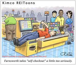 Kimco-Realty-self-checkout-cartoon