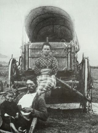 Pioneers-on-the-oregon-trail