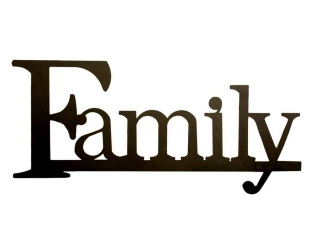 Family-clipart-Family-word-clipart-the-word-family